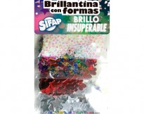 BRILLANTINA  CON FORMAS BRILLO INSUPERABLE  x 5