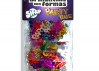 Brillantina con formas PARTY TIME