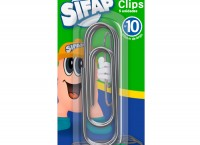 Clips Sifap Nº 10  X 5 Uds. Blister